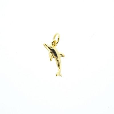 gold dolphin charm bracelet
