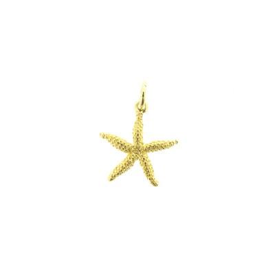 gold starfish charm bracelet