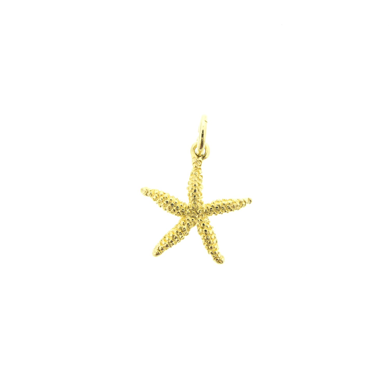gold starfish charm reese