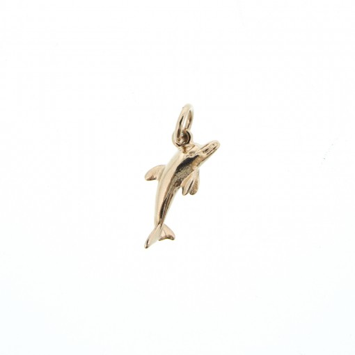 rose gold dolphin charm bracelet