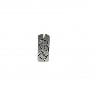 silver jersey girl charm bracelet