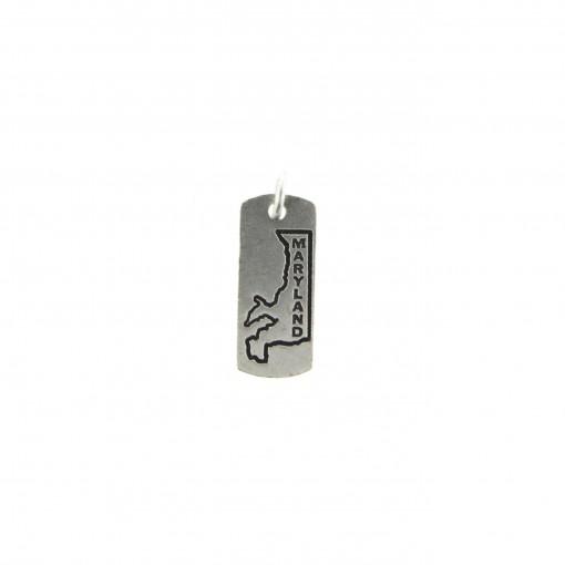silver maryland charm bracelet