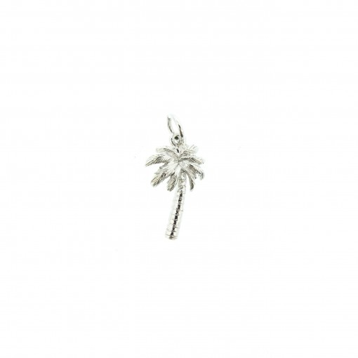 silver palm charm