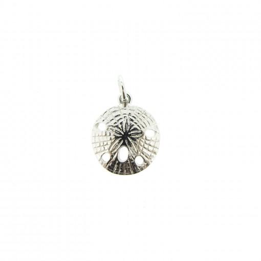 silver sand dollar charm bracelet