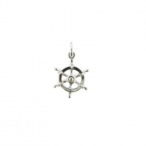 silvertone ship wheel