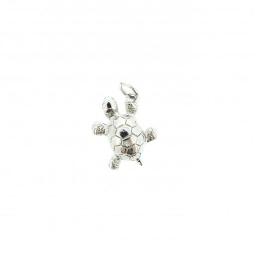 silver turtle charm bracelet
