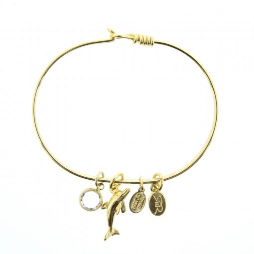 golden dolphin bracelet