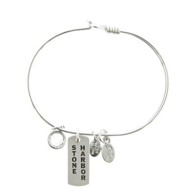 silver stone harbor new jersey bracelet