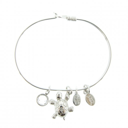 silver turtle beach bracelet